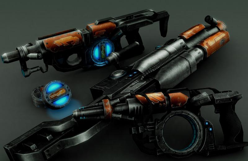 Neocron Evolution - Weapons